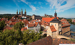 Bamberg Blick über die Stadt