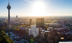 Düsseldorf Luftbild