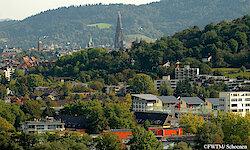 Freiburg Überblick mit Münster