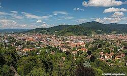 Blick über Freiburg
