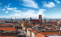 München Alpenpanorama