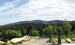 Harz Blick zum Brocken